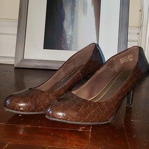 Brown Comfortable Heels 👠👠👠 Sz 8.5